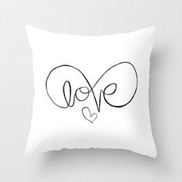 Eternalove Throw Pillow