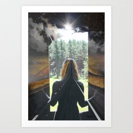 Road to Anywhere Art Print
