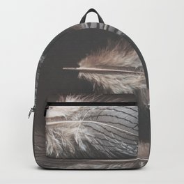 feathers appear when angels are near Backpack