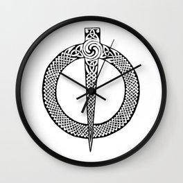 Celtic Pin Wall Clock