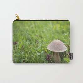 Mushroom in the Morning Dew by Althéa Photo Carry-All Pouch
