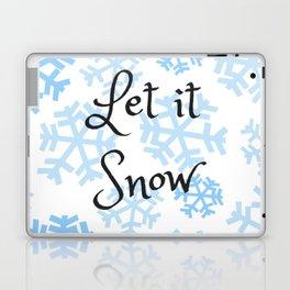 Let it Snow Snowflakes Laptop & iPad Skin
