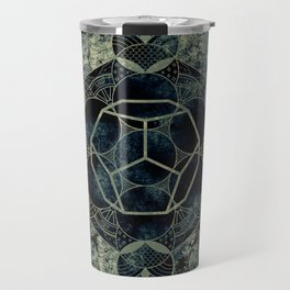 Sacred Geometry for your daily life -  Platonic Solids - ETHER Travel Mug