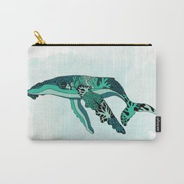 Coral Reef Humpback Whale Carry-All Pouch