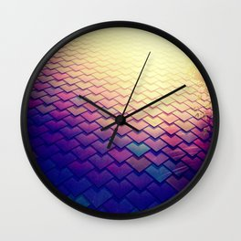 The Other Yellow Brick Road Wall Clock