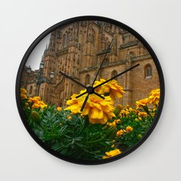 Salamanca's Cathedral Wall Clock