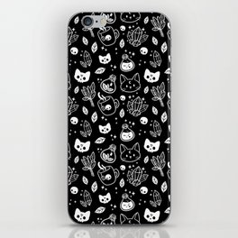 Herb Witch // Black & White iPhone Skin