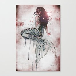 Mermaid II Canvas Print
