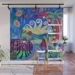 Road To Tranquility Wall Mural