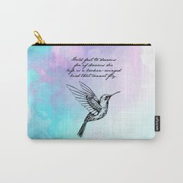 Langston Hughes - Hold Fast to Dreams Carry-All Pouch