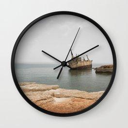 ISLAND STORIES XVII Wall Clock