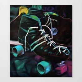 Skate Away Canvas Print