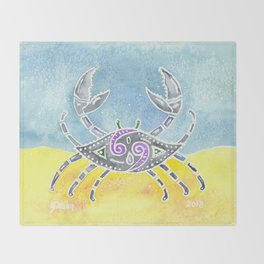 Zodiac Collection: Cancer Throw Blanket