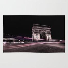 Arc de triomphe Paris France Rug
