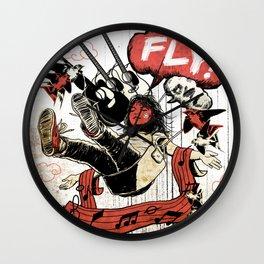 FLY! Wall Clock