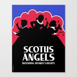 SCOTUS Angels - Tools of Law Nonviolent (Gun-Free) Edition Canvas Print