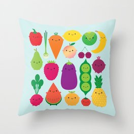5 A Day Throw Pillow