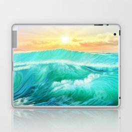 Light in a storm Laptop & iPad Skin