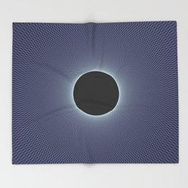 Stephen Hawking: Event Horizon Throw Blanket