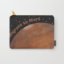 Migrate To Mars Carry-All Pouch