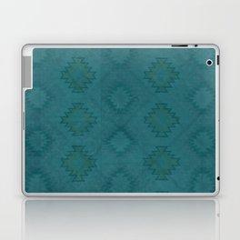 Moroccan Teal Painted Desert Laptop & iPad Skin