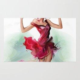 dancing ballerina3 Rug