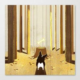 Corgi Butt Canvas Print