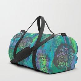 Kalediscopic Peacock Duffle Bag
