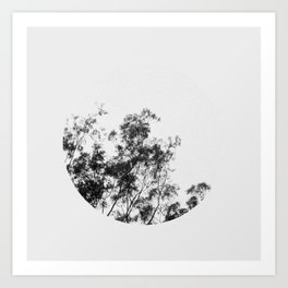 Everything Goes In Circles Art Print