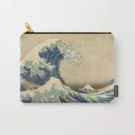 The Great Wave - Katsushika Hokusai Carry-All Pouch