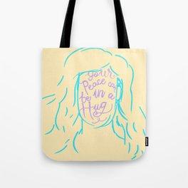 Peace in a Hug Tote Bag