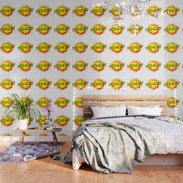 Cartoon Yellow Monday Isolated Splash Wallpaper