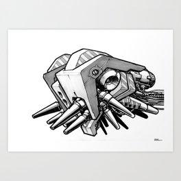 Machine object II Art Print