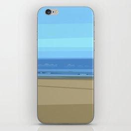 Seascape I - Kijkduin iPhone Skin