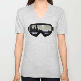 Morning Goggles Unisex V-Neck