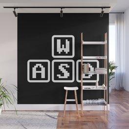 WASD Wall Mural
