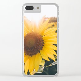 Golden Sun, III Clear iPhone Case