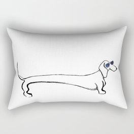 Long Dawg Rectangular Pillow