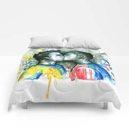 Kiss players Comforters