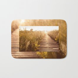 boardwalk and morass grass Bath Mat