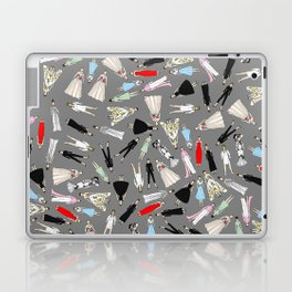 Audrey Fashion Whimsical Layout Laptop & iPad Skin