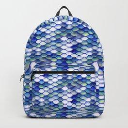 Mermaid Tale Pattern Backpack