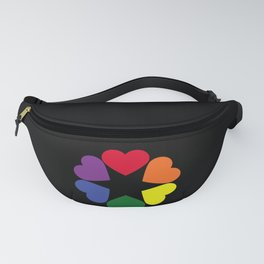 LGBT pride hearts Fanny Pack
