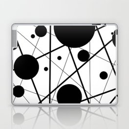 Abstract Lines and Dots Laptop & iPad Skin