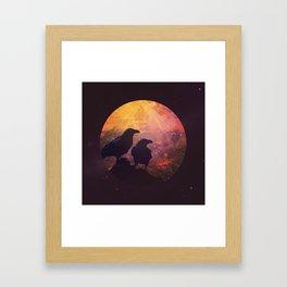 Corvus Framed Art Print