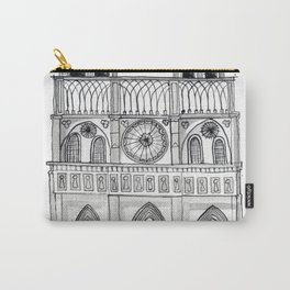 Notre Dame Sketch Carry-All Pouch