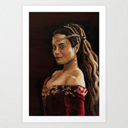 Queen Guinevere  Art Print