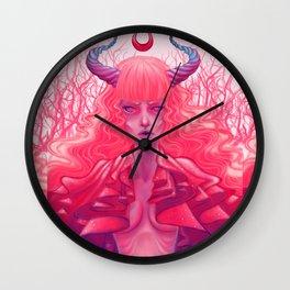 Ruffle Wall Clock