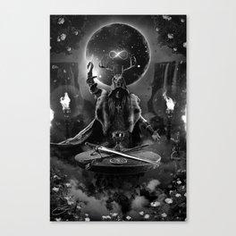 I. The Magician Tarot Card Illustration Canvas Print