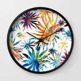 Sea Anemones Wall Clock